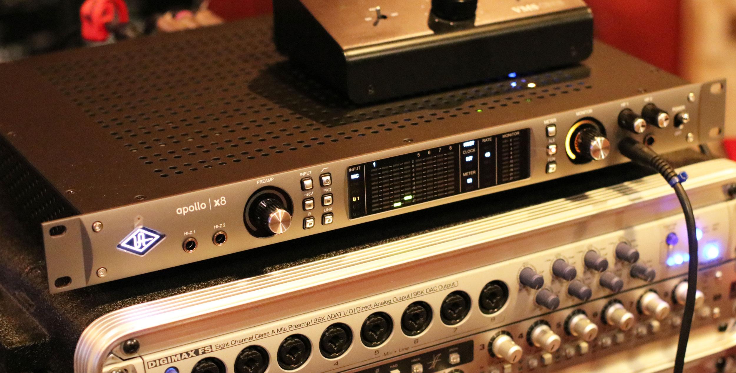 TEST: Universal Audio Apollo x8 – trening czyni mistrza! | uptone pl