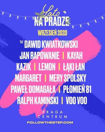 Lato na Pradze – Kazik, Paweł Domagała i Mery Spolsky na ...