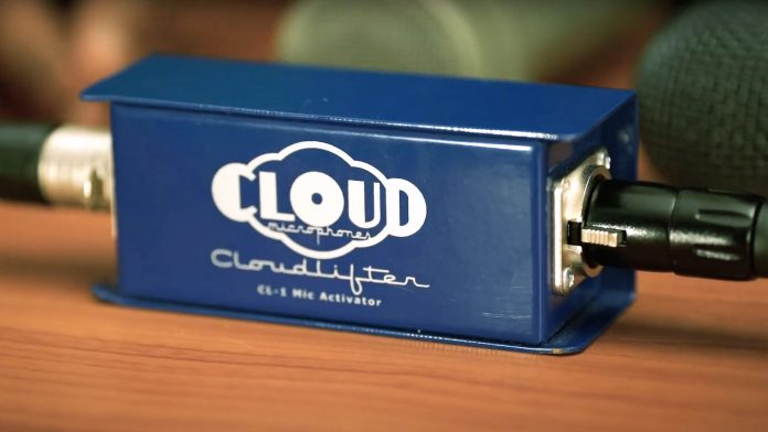 Cloudlifter, preamp mikrofonowy