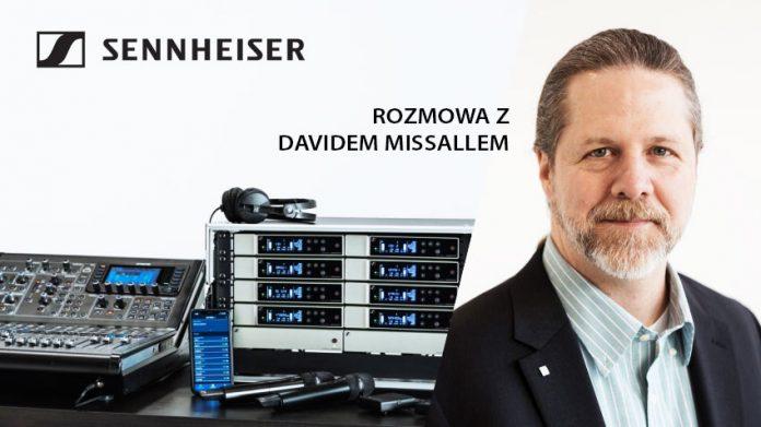 David Missall Sennheiser EW-D