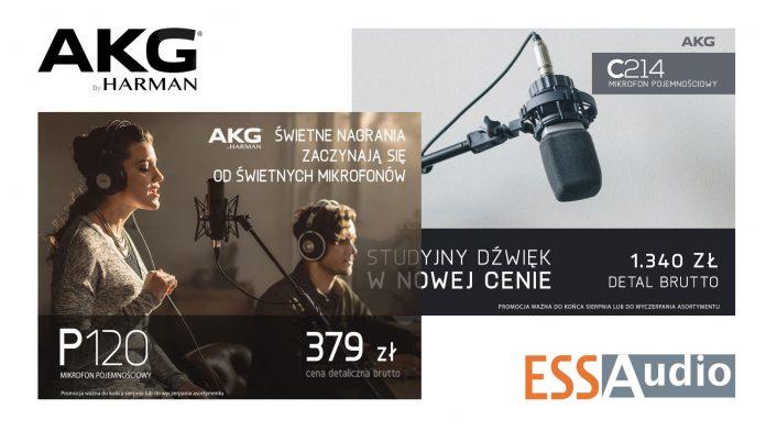 Promocje AKG ESS Audio