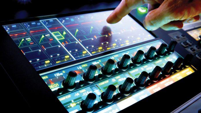 SoundCraft Vi1000 Vistonics Touchscreen