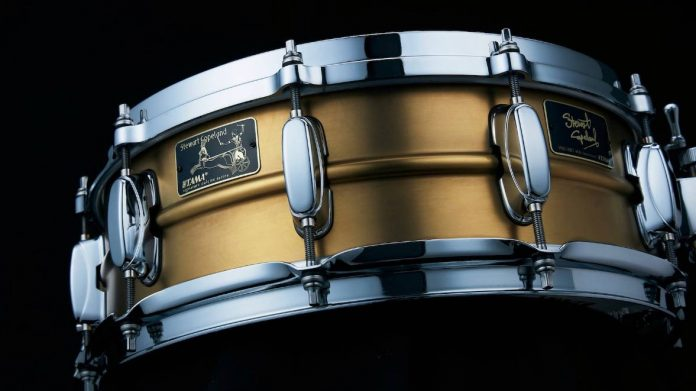TAMA-SC145A40-40th-Anniversary-Stewart-Copeland-Limited-Edition-Signature-Snare-Drum
