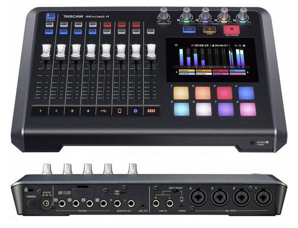 Tascam-Mixcast-4