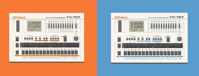Roland-TR-707-Roland-TR-727