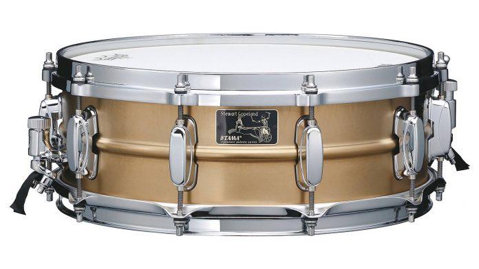 TAMA Stewart Copeland Signature Snare Drum 40th Anniversary Limited Model